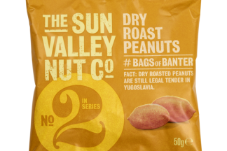 Sun Valley Dry Roasted Peanuts Card