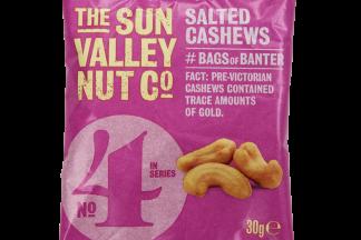 Sun Valley Salted Cashews Card