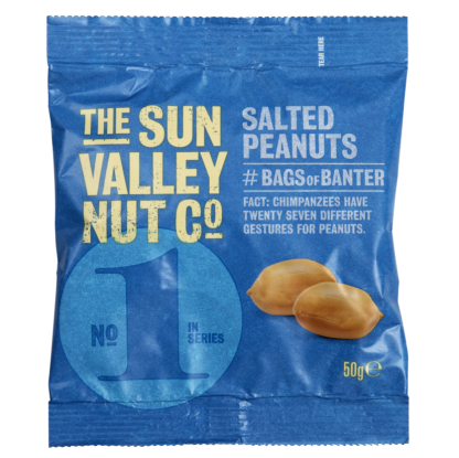 Sun Valley Salted Peanuts Card