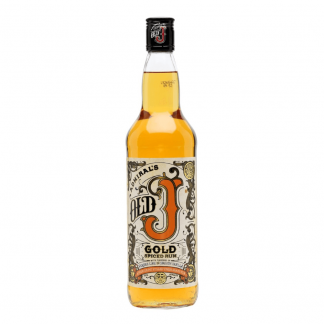 Admiral Vernon's Old J Gold Spiced